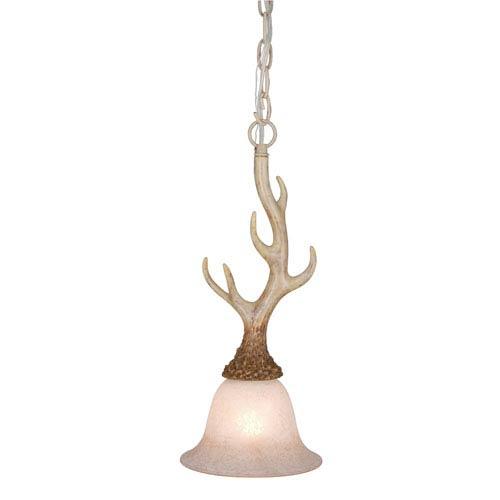 Antler ceiling light fixtures bellacor vaxcel lodge noachian stone 7 inch mini pendant aloadofball Gallery