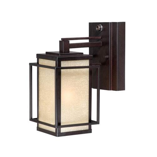 Vaxcel Robie Espresso Bronze 5-Inch Outdoor Wall Light
