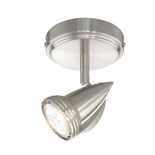 Vaxcel Satin Nickel Spot Light