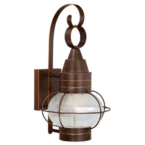 Chatham Burnished Bronze LED Outdoor Wall Mount