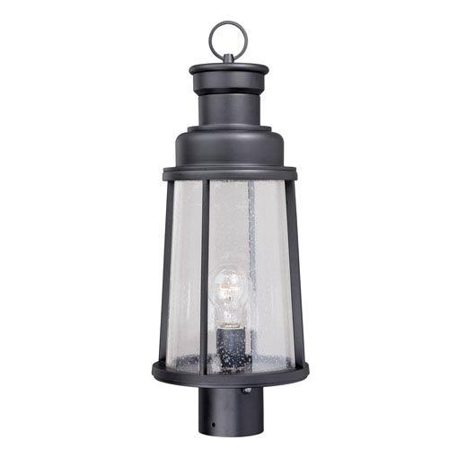 Vaxcel Coventry Dark Bronze 8-Inch Outdoor Post Light
