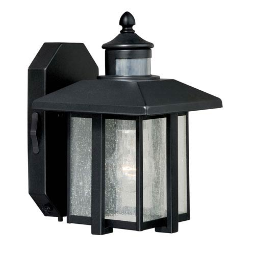 Hedron Oil Rubbed Bronze One-Light Outdoor Motion Sensor