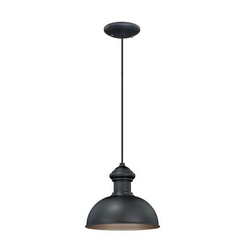 Franklin Oil Burnished Bronze One-Light Outdoor Pendant