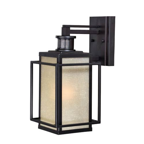 Vaxcel Hyde Park Dualux Espresso Bronze 7-Inch One-Light Outdoor Wall Light
