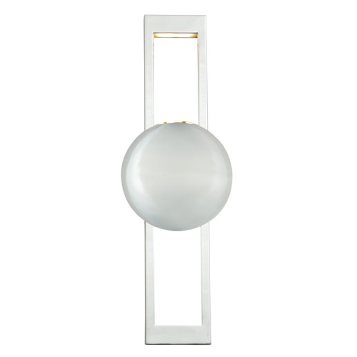 Vaxcel Aline Polished Nickel LED Wall Sconce
