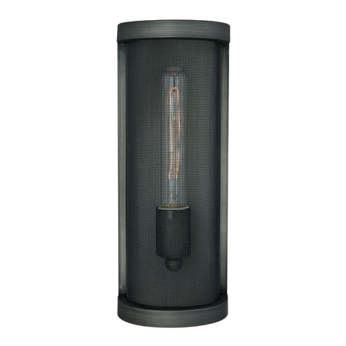 Vaxcel Wicker Park Warm Pewter One-Light Wall Sconce