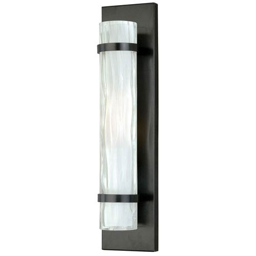 Vaxcel Vilo Oil Rubbed Bronze One-Light Flush Wall Sconce