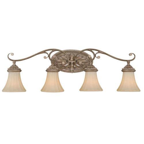 Avenant French Bronze Four-Light Vanity Fixture