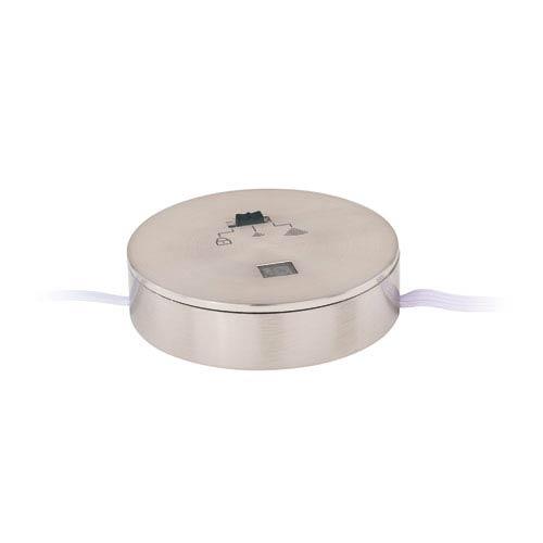 Dual Mount Instalux Satin Nickel Under Cabinet Sensor