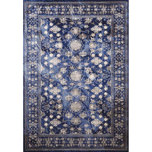 Mirage Australis Midnight Rectangular: 5 Ft. 3 In. x 7 Ft. 2 In. Rug