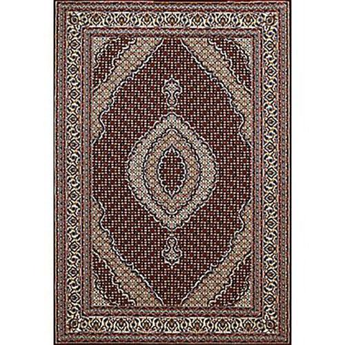 United Weavers Antiquities Kashan Ruby Rectangular: 5 Ft. 3 In x 7 Ft. 2 In. Rug
