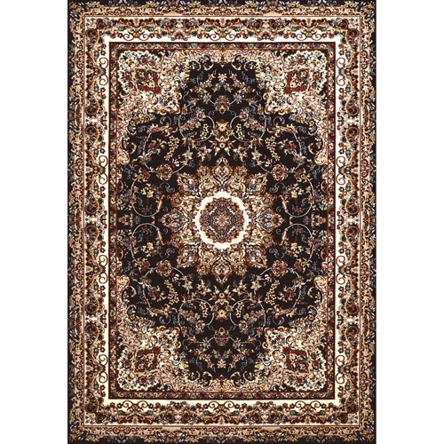 Antiquities Saraband Navy Rectangular: 5 Ft. 3 In x 7 Ft. 2 In. Rug