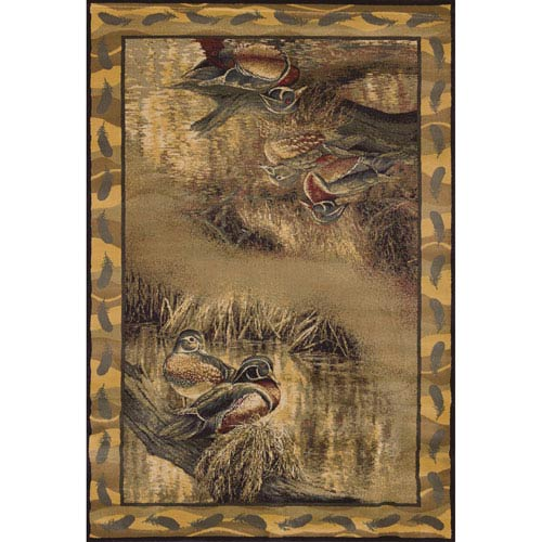 Wild Wings Backwaters Rectangular: 1 Ft. 10 In. x 3 Ft.