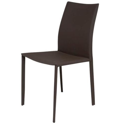 Sienna Dark Brown Dining Chair