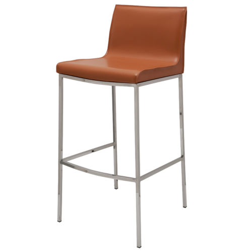 Colter Ochre Bar Stool