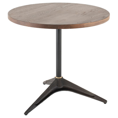 Compass Black and Gray Bistro Table