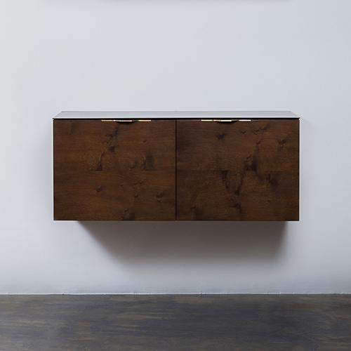 NUEVO Drift Smoked Oak Sideboard Cabinet