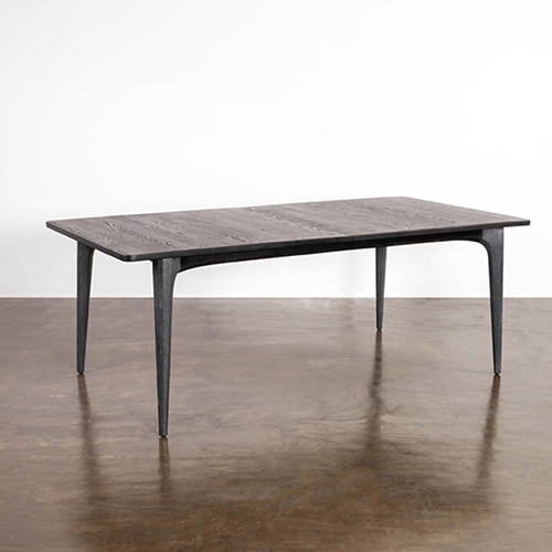 Salk Matte Seared Dining Table