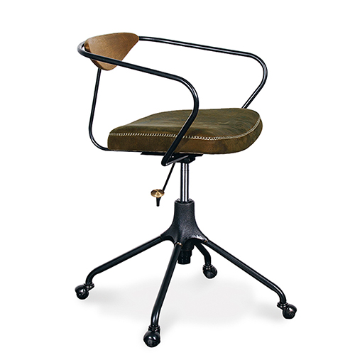 Akron Matte Jin Green Office Chair