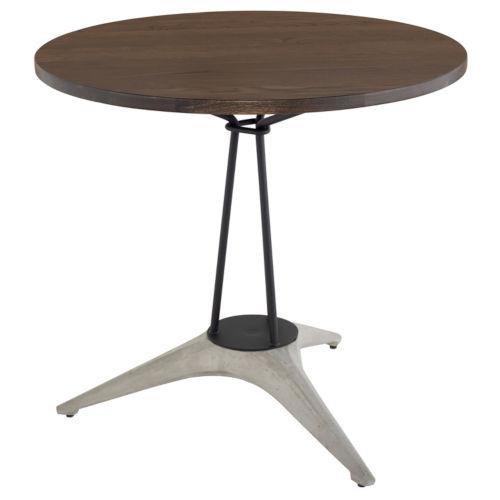 Kahn Brown and Gray Bistro Table