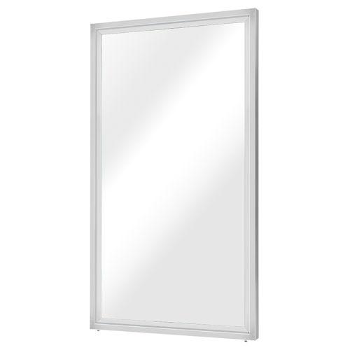 Glam Polished Silver Wall Mirror
