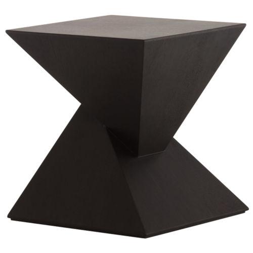 Giza Matte Black Side Table