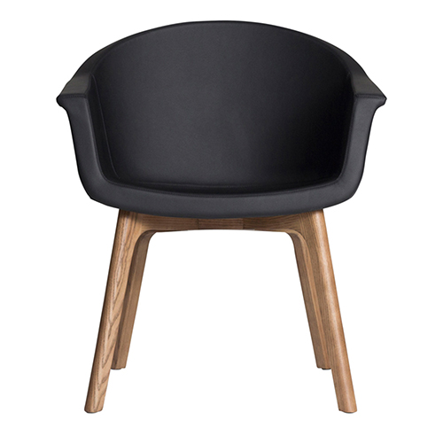 Vitale Matte Black Dining Chair