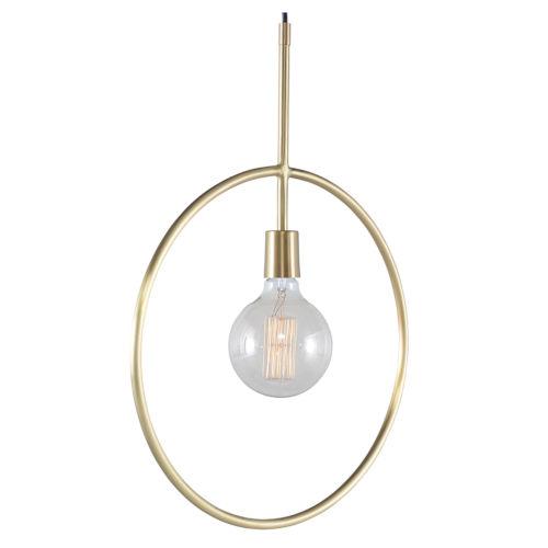 Finn Brass One-Light Pendant