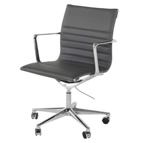 Antonio Matte Gray Office Chair