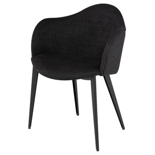 Nora Coal Dining Chair