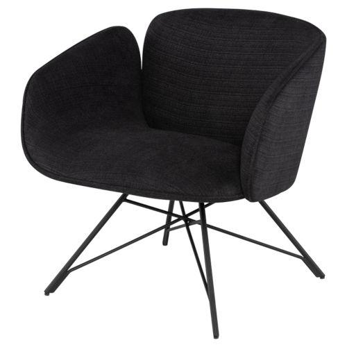 Doppio Coal Occasional Chair