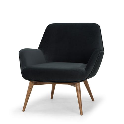 Gretchen Matte Shadow Grey Chair