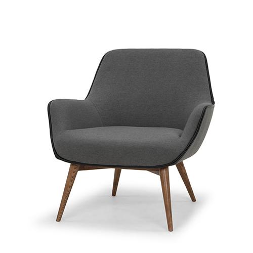 Gretchen Matte Slate Grey Chair