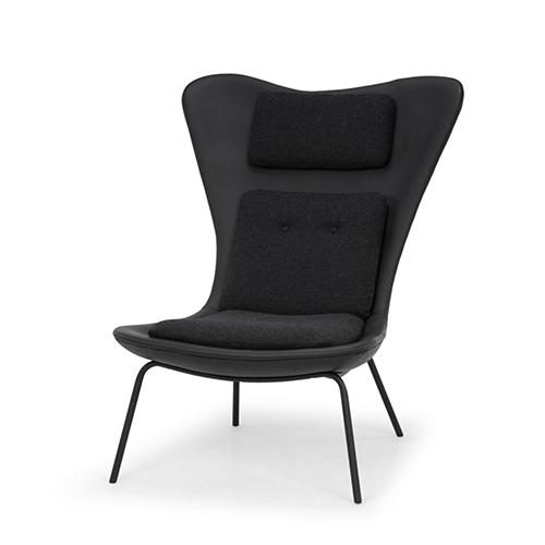 Barlow Matte Black Chair