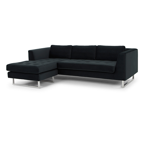 Matthew Matte Shadow Grey Sectional