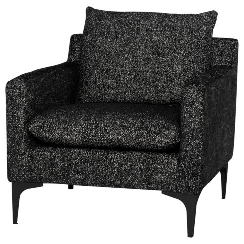 Anders Black Occasional Chair