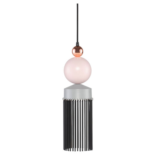 Fabiola Beige and Black LED Mini Pendant