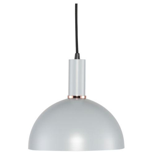 Rosie Mini Concrete Gray and Black One-Light Pendant