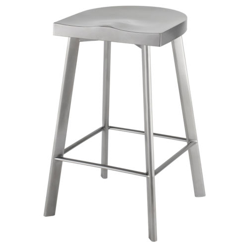 Icon Graphite Counter Stool