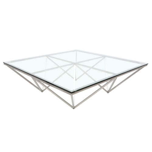Origami Clear Coffee Table