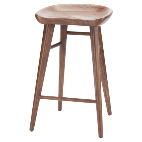 Kami Walnut Counter Stool