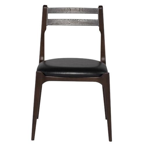 Black Smoked Dining Chair