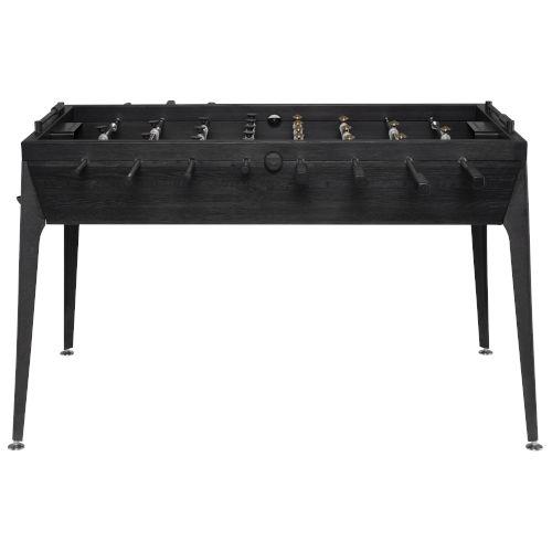 Ebonized Black Foosball Table