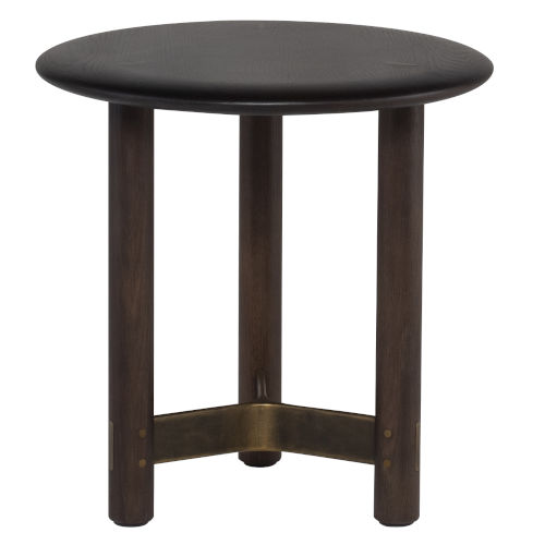 Stilt Smoked 18-Inch Coffee Table