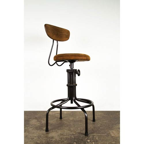 Buck Umber Adjustable Stool
