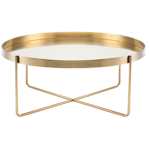 NUEVO Gaultier Gold Coffee Table