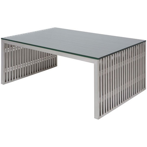 Amici Stainless Coffee Table