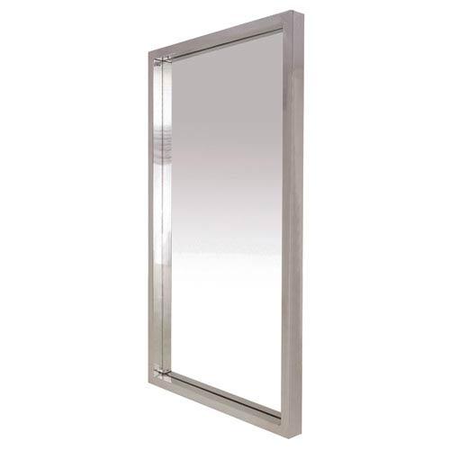 NUEVO Glam Silver 36-Inch Wall Mirror