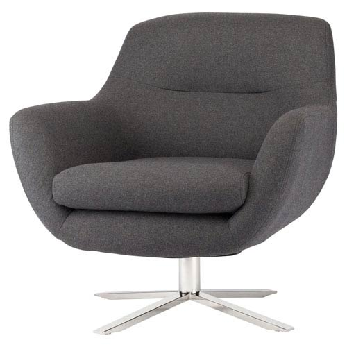 Greta Dark Grey Accent Chair