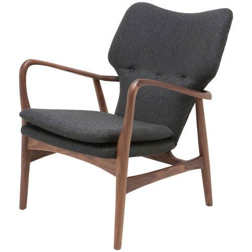 Patrik Dark Grey Occasional Chair